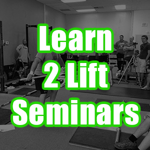 Learn 2 Lift Seminars