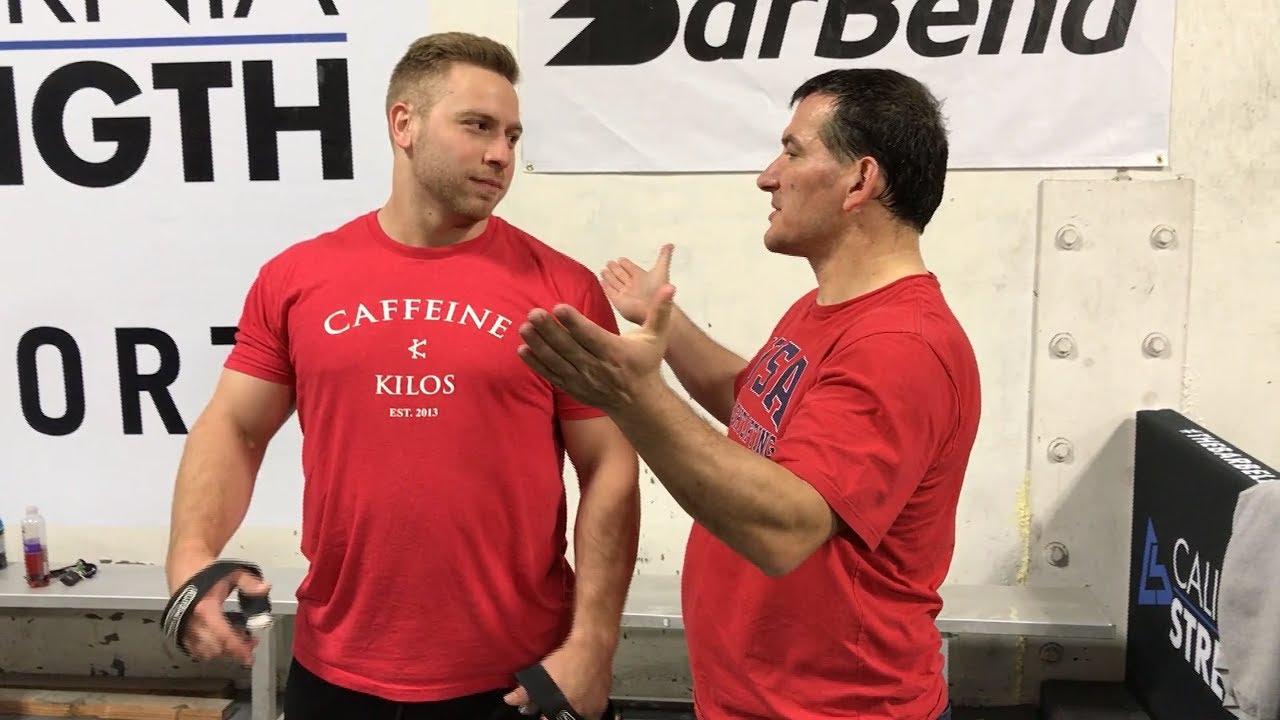 Will Pyrros Dimas Save American Weightlifting – Mash Elite ...
